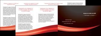 maquette en ligne a personnaliser depliant 4 volets  8 pages  web design texture contexture structure MLGI87638