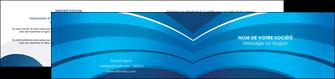 imprimer depliant 2 volets  4 pages  texture contexture structure MIF87868