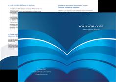 modele depliant 2 volets  4 pages  texture contexture structure MIF87872