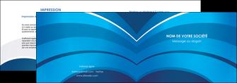 faire depliant 2 volets  4 pages  texture contexture structure MIF87876