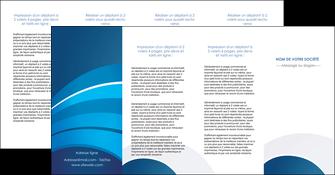 imprimer depliant 4 volets  8 pages  texture contexture structure MIF87898