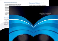 imprimerie depliant 2 volets  4 pages  texture contexture structure MLGI88080
