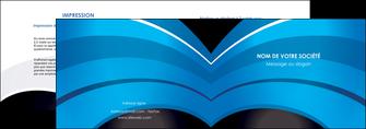 impression depliant 2 volets  4 pages  texture contexture structure MLGI88084