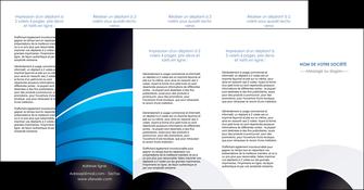 imprimer depliant 4 volets  8 pages  texture contexture structure MLGI88106