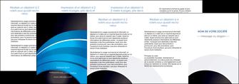 imprimerie depliant 4 volets  8 pages  texture contexture structure MLGI88108