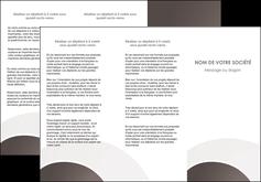 personnaliser maquette depliant 3 volets  6 pages  web design texture contexture structure MLGI88118