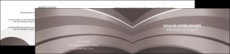 personnaliser maquette depliant 2 volets  4 pages  web design texture contexture structure MLGI88128