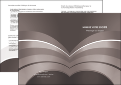 modele depliant 2 volets  4 pages  web design texture contexture structure MLGI88132