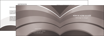 personnaliser maquette depliant 2 volets  4 pages  web design texture contexture structure MLGI88136