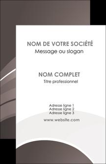 Impression tarif impression carte de visite Web Design papier à prix discount et format Carte de visite - Portrait