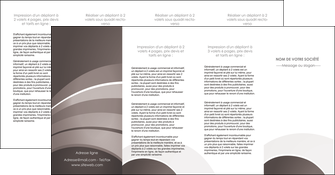 creation graphique en ligne depliant 4 volets  8 pages  web design texture contexture structure MLGI88158