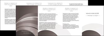modele depliant 4 volets  8 pages  web design texture contexture structure MLGI88160