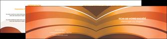 imprimer depliant 2 volets  4 pages  bijouterie abstrait affaires arriere plan MLGI88284