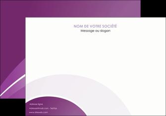 faire affiche web design abstrait violet violette MLGI88320