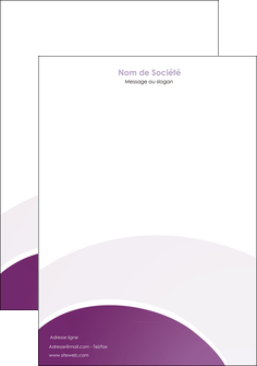 cree tete de lettre web design abstrait violet violette MLGI88332