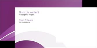 imprimer enveloppe web design abstrait violet violette MLGI88338