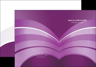exemple pochette a rabat web design abstrait violet violette MLGI88348