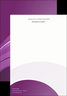 exemple affiche web design abstrait violet violette MLGI88354