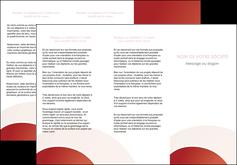 modele depliant 3 volets  6 pages  web design texture contexture structure MLGI88378