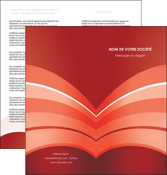 impression depliant 2 volets  4 pages  web design texture contexture structure MLGI88380