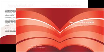 modele en ligne depliant 2 volets  4 pages  web design texture contexture structure MLGI88382