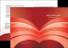faire depliant 2 volets  4 pages  web design texture contexture structure MLGI88392