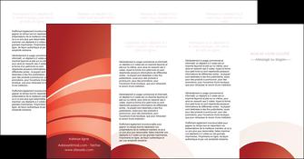 cree depliant 4 volets  8 pages  web design texture contexture structure MLGI88418