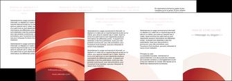 imprimer depliant 4 volets  8 pages  web design texture contexture structure MLGI88420