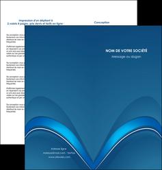 creer modele en ligne depliant 2 volets  4 pages  web design texture contexture structure MLGI88762