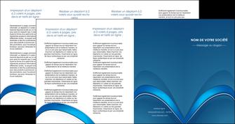 creation graphique en ligne depliant 4 volets  8 pages  web design texture contexture structure MLGI88780