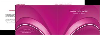 personnaliser modele de depliant 2 volets  4 pages  web design texture contexture structure MLGI88854