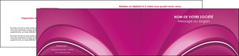 cree depliant 2 volets  4 pages  web design texture contexture structure MLIG88874