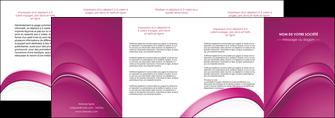 faire depliant 4 volets  8 pages  web design texture contexture structure MLIG88880