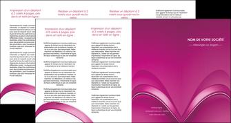 creation graphique en ligne depliant 4 volets  8 pages  web design texture contexture structure MLGI88884