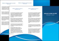 faire modele a imprimer depliant 3 volets  6 pages  web design texture contexture structure MLGI88950