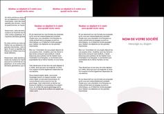 creer modele en ligne depliant 3 volets  6 pages  web design texture contexture couleurs MLIG89002
