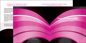 faire modele a imprimer depliant 2 volets  4 pages  web design texture contexture couleurs MLIG89006