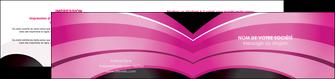 faire modele a imprimer depliant 2 volets  4 pages  web design texture contexture couleurs MLIG89012