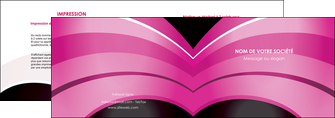 creer modele en ligne depliant 2 volets  4 pages  web design texture contexture couleurs MLGI89020