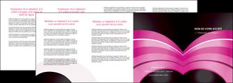 maquette en ligne a personnaliser depliant 4 volets  8 pages  web design texture contexture couleurs MLIG89038