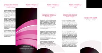 personnaliser maquette depliant 4 volets  8 pages  web design texture contexture couleurs MLIG89042