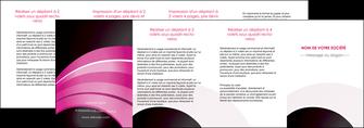 imprimer depliant 4 volets  8 pages  web design texture contexture couleurs MLIG89044