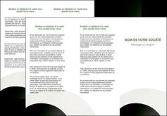 faire depliant 3 volets  6 pages  web design texture contexture structure MLGI89054