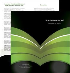 imprimerie depliant 2 volets  4 pages  web design texture contexture structure MLGI89056