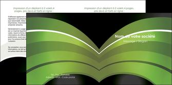 personnaliser maquette depliant 2 volets  4 pages  web design texture contexture structure MLGI89058