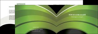 impression depliant 2 volets  4 pages  web design texture contexture structure MLGI89072