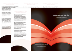 imprimer depliant 3 volets  6 pages  web design abstrait abstraction arriere plan MLGI89440