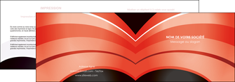 personnaliser maquette depliant 2 volets  4 pages  web design abstrait abstraction arriere plan MLGI89458