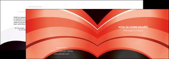 personnaliser modele de depliant 2 volets  4 pages  web design abstrait abstraction arriere plan MLGI89460