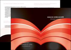personnaliser maquette depliant 2 volets  4 pages  web design abstrait abstraction arriere plan MLGI89468
